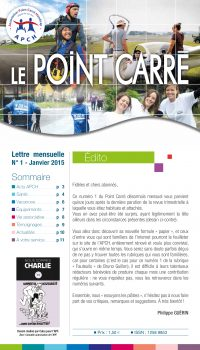 Le Point Carré n°1 Janvier 2015