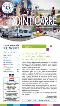 Le Point Carré n°2 Février 2015