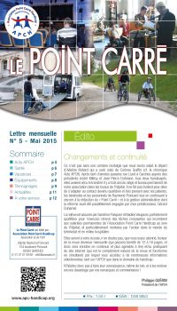 Le Point Carré n°5 Mai 2015
