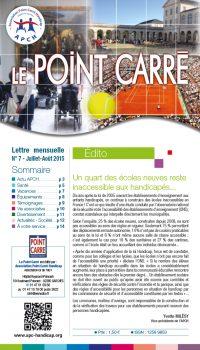 Le Point Carré n°7 Juillet-Août 2015