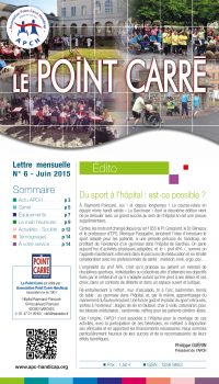 Le Point Carré n°6 Juin 2015