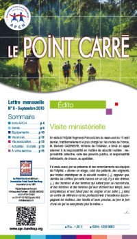 Le Point Carré n°8 Septembre 2015