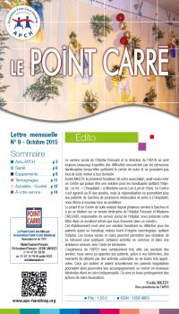 Le Point Carré n°9 Octobre 2015