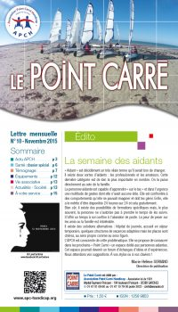 Le Point Carré n°10 Novembre 2015