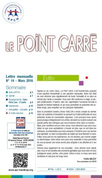 Le Point Carré n°14 Mars 2016
