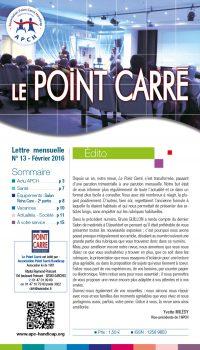 Le Point Carré n°13 Février 2016