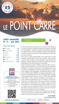 Le Point Carré n°17 juin 2016
