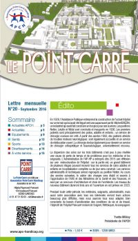 Le Point Carré n°20 septembre 2016
