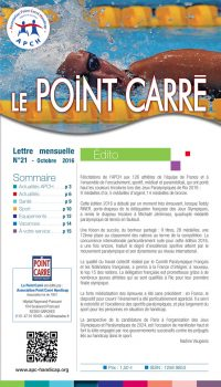 Le Point Carré n°21 octobre 2016