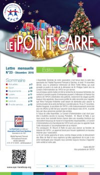 Le Point Carré n°23 décembre 2016