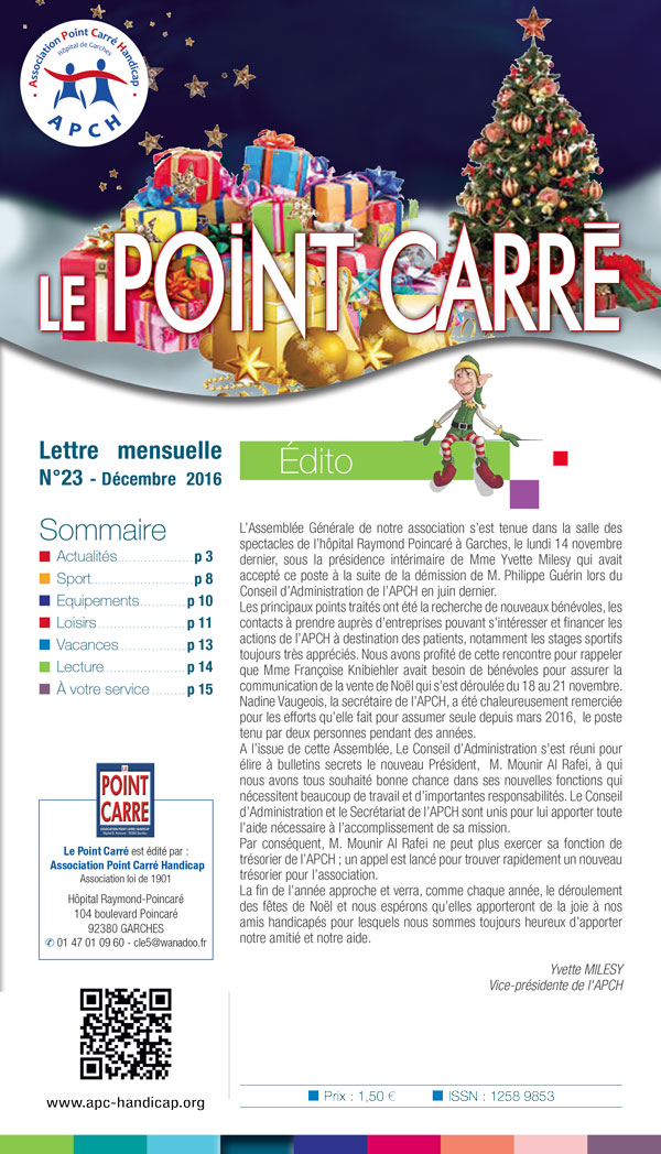 point carre decembre 2016