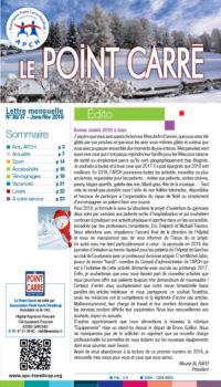 Le Point Carré Janvier Février n°36-37 2018