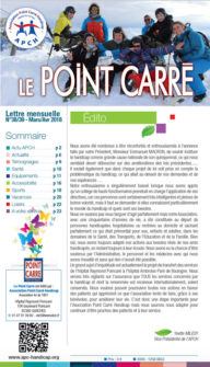 Le Point Carré Mars Avril n°38-39 2018