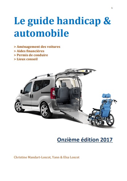 guide handicap automobile
